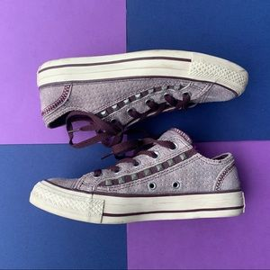 LIMITED EDITION STUDDED CONVERSE
